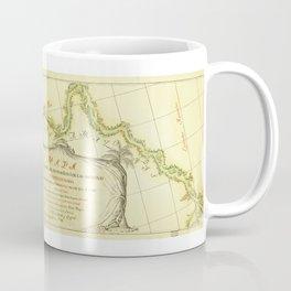 Map of the Amazon River (1788) Coffee Mug