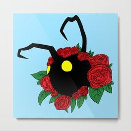 Heartless Rose Crown Metal Print