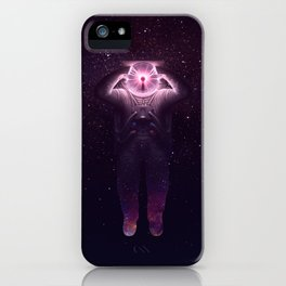The mind blown iPhone Case