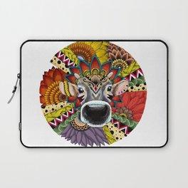 TRIBAL COW Laptop Sleeve