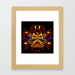 Invader 1 Framed Art Print