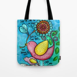 Wings To Fly Tote Bag