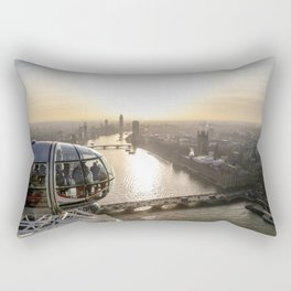 View from the Eye Rectangular Pillow
