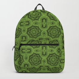 Greenery Doily Floral Backpack