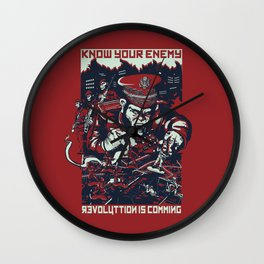 Know your enemy Wall Clock