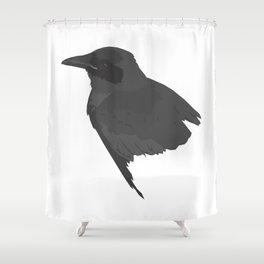 Le corbeau Shower Curtain