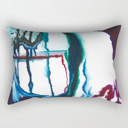 A State of Apprehension and Tension Rectangular Pillow