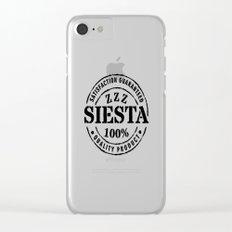 SIESTA nº 3 Clear iPhone Case