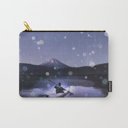 Canoe at Mount Fuji Carry-All Pouch