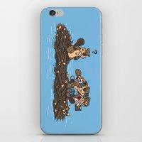 woody iPhone & iPod Skins featuring Woody by Rodrigo Ferreira