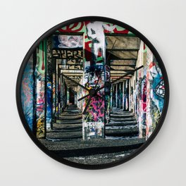 The Path Made Clear Wall Clock