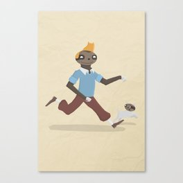 SlothTin Canvas Print