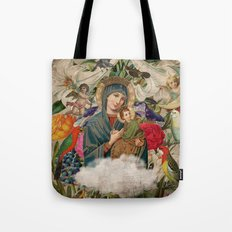 Saints Collection -- Madonna And Child Tote Bag