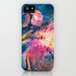 The awesome beauty of the Orion Nebula  iPhone Case