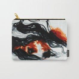 Paint Horse Portrait Carry-All Pouch