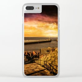 Whitby Wanderer Clear iPhone Case