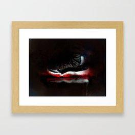Bred 11s Framed Art Print