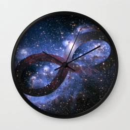 Infinty and Beyond Wall Clock