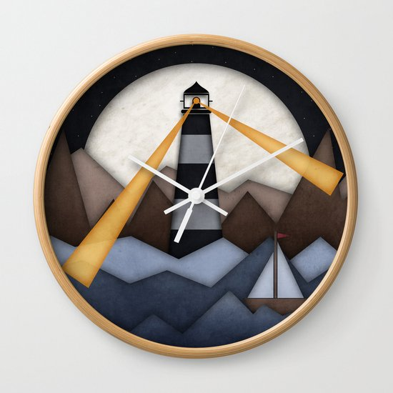 Show Me The Way To Go Home. Wall Clock