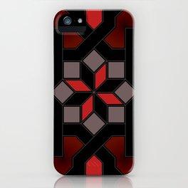 Oriental design - geometric Pattern Pt.1 iPhone Case