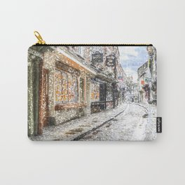 The Shambles York Snow Art Carry-All Pouch