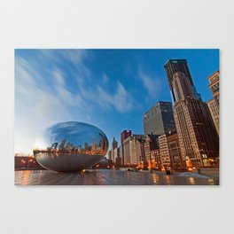 Chicago's Bean at Sunrise Canvas Print