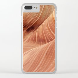 The Waves of the Coyote Buttes Clear iPhone Case