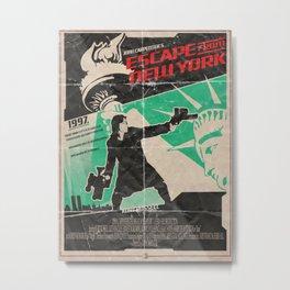 1997 Escape From New York - John Carpenter Metal Print