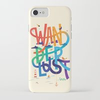 wanderlust iPhone & iPod Cases featuring Wanderlust by Wharton