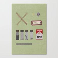 X Files v2 Canvas Print