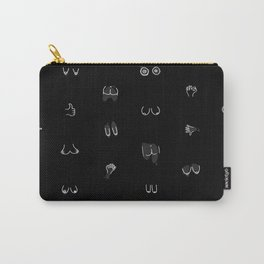 boobies and butts Carry-All Pouch
