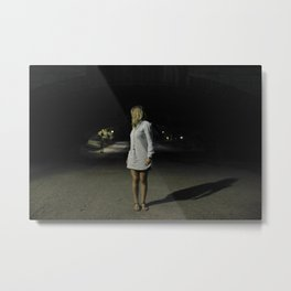 A night in Central Park Metal Print