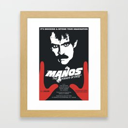 Manos: The Hands of Fate Framed Art Print