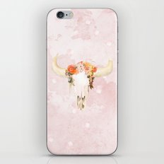 Romantic Boho Buffalo iPhone & iPod Skin