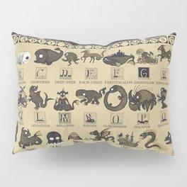 Alphabet of Sea Monsters Pillow Sham