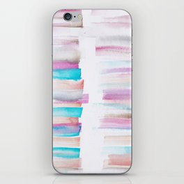 12  | 181101 Watercolour Palette Abstract Art | Lines | Stripes | iPhone Skin