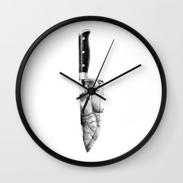 Pyscho NOODDOOD Wall Clock