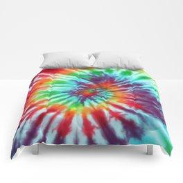 Tie Dye Hippie Comforters