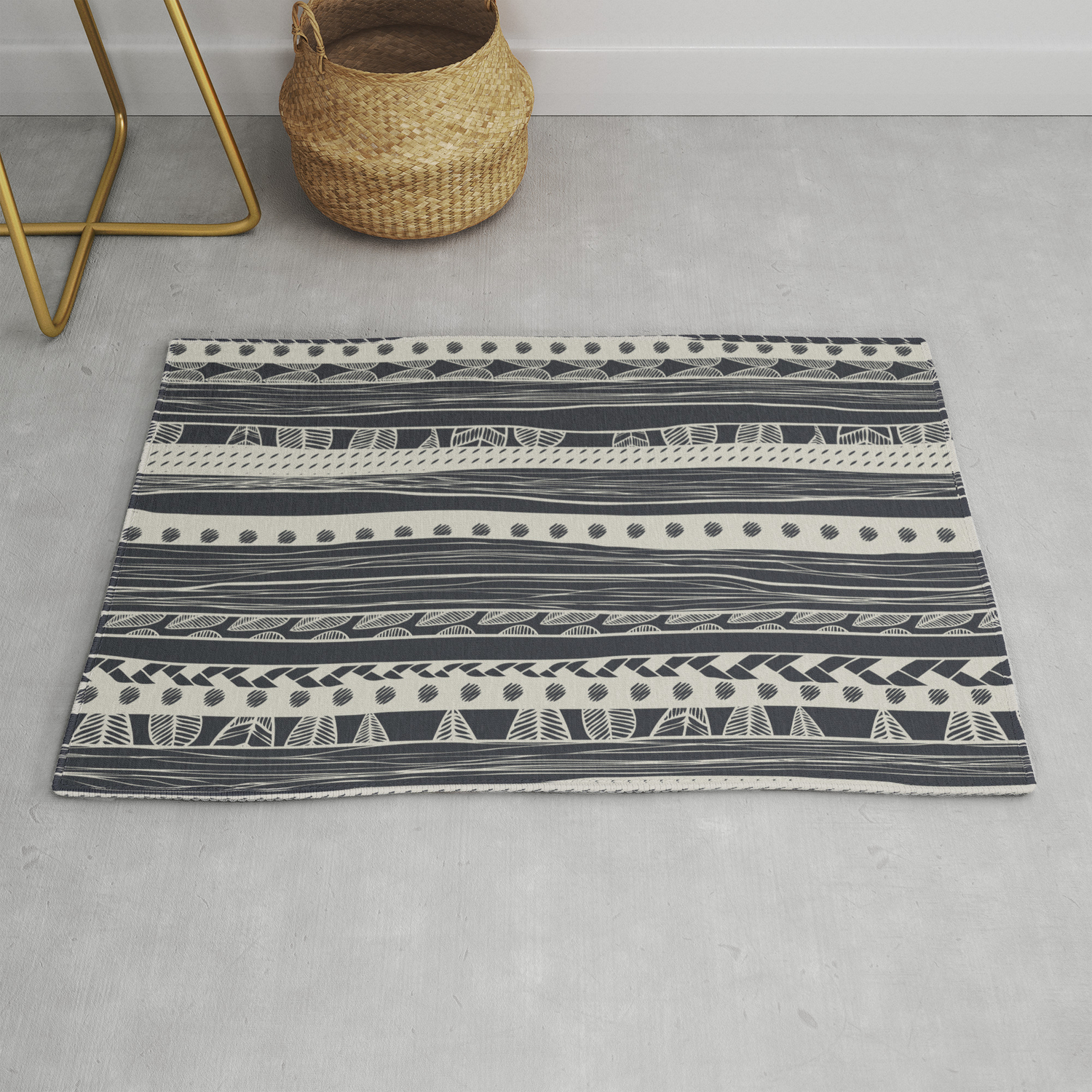 aztec Rug by spinl | Society6