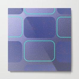 Modern,Retro,violet,purple,pattern Metal Print