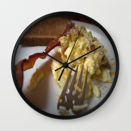 Breakfast Anyone? Wall Clock