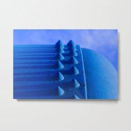 Blue Steel Metal Print