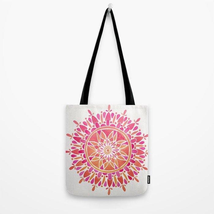 Mandala – Pink Ombré Tote Bag
