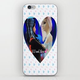 Drake and Mara wedding print :Love is Eternal iPhone Skin