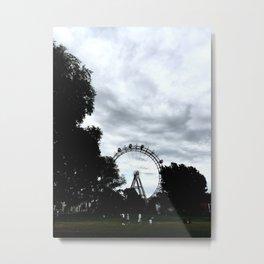 Prater Ferris Wheel Metal Print