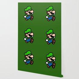 Little plumbler green jump Wallpaper