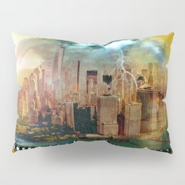 Manhattan Under the Dome Pillow Sham