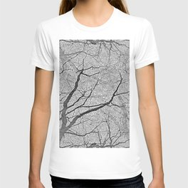 Interconnected Paths (grey) T-shirt