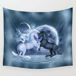 Schach Wall Tapestry