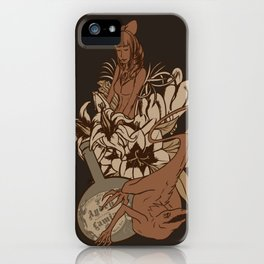 Witch's bouquet iPhone Case